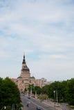 Die große schöne Kathedrale Stockfoto