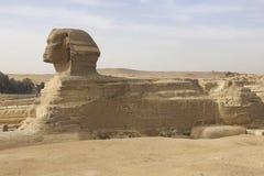 Die große Sphinx Ägyptische Sphinx Das 7. Wunder der Welt Alte Megalithe Stockbild