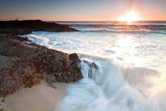 Die große Welle Stockbilder