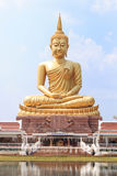 Die großen Buddha-Bilder in Ubonratchathani, Thailand Lizenzfreies Stockfoto