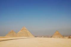 Die großen Pyramiden von Giza in Ägypten Stockfoto
