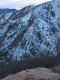 Die großen Rocky Mountains-Berge in Denver Colorado Lizenzfreie Stockfotos