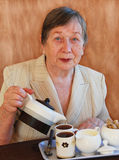 Die Großmutter Lizenzfreies Stockfoto