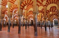 Die große Moschee in Cordoba, Spanien Stockfotos