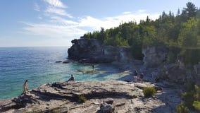 Die Grotte Stockbild
