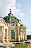 Die Grotte im Sheremetev-` s Landsitz ` Kuskovo-`, Moskau stockbild