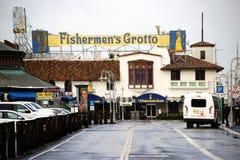 Die Grotte San Francisco des Fischers Stockfotografie