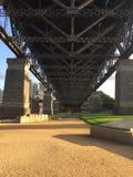 Die Grundplatte von Sydney Bridge Lizenzfreie Stockfotos