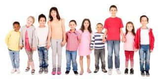 Die Gruppe der Kinder Lizenzfreie Stockbilder