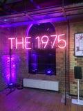 Die 1975 Gruppe knallen oben Shop London Lizenzfreie Stockbilder