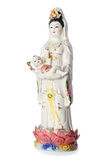 Die Guan Yin Buddha Statue Stockfotos