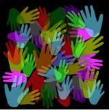 Die Hände Lizenzfreies Stockbild