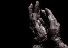 Die Hände der Zeit lizenzfreie stockfotos
