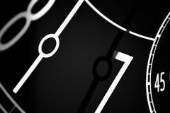 Die Hände einer Uhr lizenzfreies stockfoto