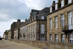 Die Häuser des Heiligen-Malo stockfotos