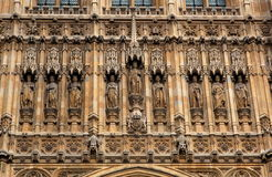 Die Häuser des Parlaments. London. Großbritannien. Lizenzfreie Stockfotos