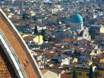 Die Häuser von Florenz Lizenzfreie Stockbilder