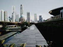 die höchste Stadt Stockfotografie