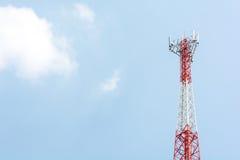 Die höchstentwickelte Telefontelekommunikation Stockbild