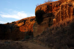 Die Höhle von La Batida stockbild