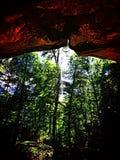 Die Höhlen Stockfoto