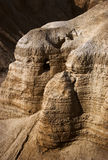 Die Höhlen von Qumran stockfotos