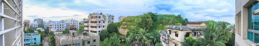 Die Hügel-Ansicht Stockfoto