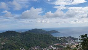 Die Hügel von Phuket Thailand Stockfotografie