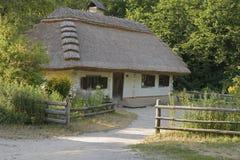 Die Hütte des Jahrhunderts XVII stockfotografie