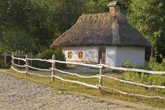 Die Hütte des Jahrhunderts XVII lizenzfreie stockfotografie