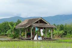 Die Hütte des Landwirts Lizenzfreie Stockbilder