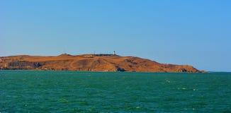 Die Halbinsel von Krim Stockbild