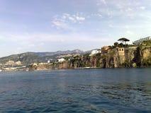 Die Halbinsel von Sorrent in Italien lizenzfreies stockfoto