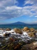Die Halbinsel von Sorrent in Italien stockbilder