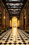 Die Halle Lizenzfreies Stockfoto