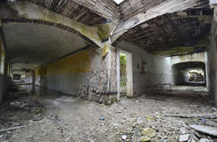 Die Hallen Stockfoto