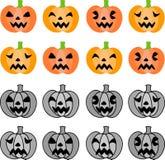 Die Halloween-Ikonen Lizenzfreies Stockfoto