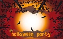Die Halloween-Party Stockfotos