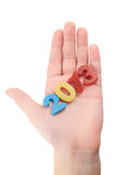 Die Hand des Kindes Lizenzfreies Stockbild