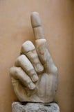 Die Hand von Constantine Lizenzfreies Stockbild