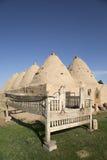 Die Harran-Häuser, Sanliurfa, die Türkei lizenzfreie stockfotografie