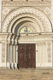 Die Haube der Besteigungs-Kathedrale in Novocherkassk, Russland Lizenzfreie Stockfotografie