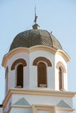 Die Haube der orthodoxen Kirche in Pomorie, Bulgarien Stockfotografie