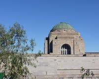 Die Haube des australischen Kriegs-Denkmals stockbild