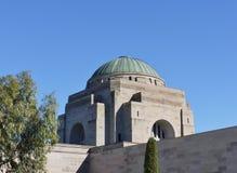 Die Haube des australischen Kriegs-Denkmals lizenzfreies stockbild