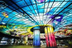 Die Haube des Lichtes an der Formosa-Boulevard-Station lizenzfreie stockbilder