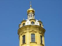 Die Haube des Peter und des Paul Cathedrals Lizenzfreies Stockfoto