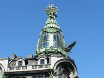 Die Haube des Sängerhauses St Petersburg, Russland stockfotos