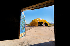 Die Hauben in der Casa großes Arizona lizenzfreie stockfotos