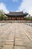 Die Haupthalle von Deoksugungs-Palast in Seoul Stockbild